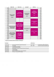 Zeitplanung Kink in Pink 2016