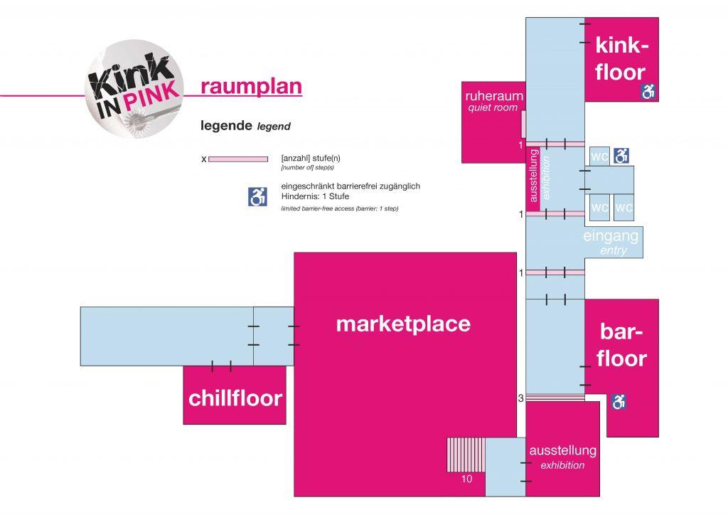 Lageplan der Kink in Pink 2018 als PDF